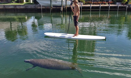 $47 for a Two-Hour Standup-Paddleboard Eco Tour for Two from South Florida Paddle LLC ($90 Value)