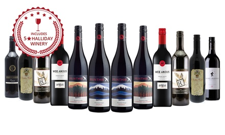 $99 Bottles of Christmas Premium Mixed Red Wines Including Five Star Wineries Don't Pay $319