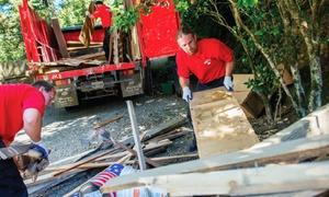 Junk King North Orlando: $99 for Three Cubic Yards of Junk Removal from Junk King North Orlando ($198 Value)