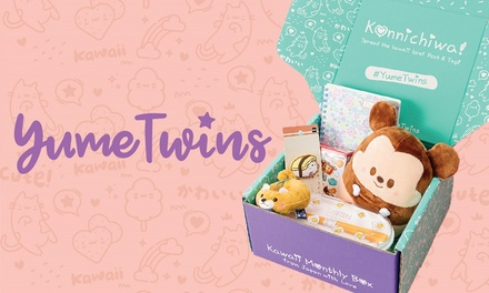 $25 for OneMonth Kawaii Box Subscription from YumeTwins Up to $49.20 Value