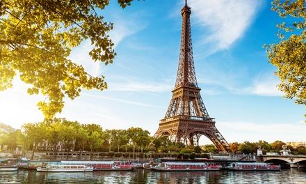 Parijs: tweepersoonskamer met ontbijt en Seinecruise voor 2 personen bij Hotel Delos Vaugirard