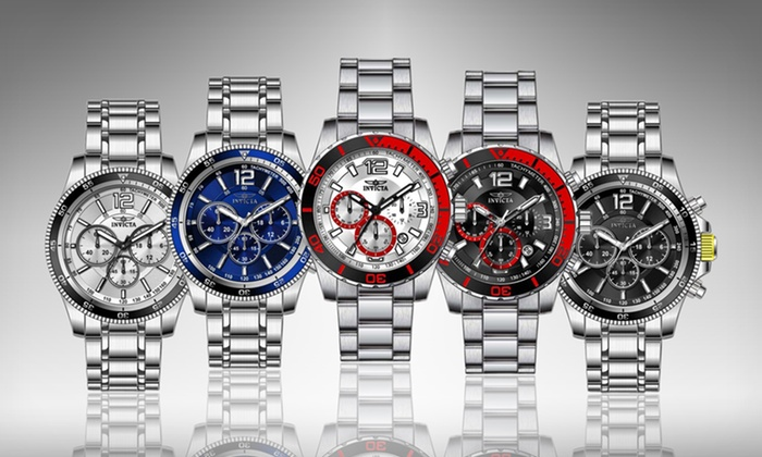 Invicta Men's Chronograph Watches: Invicta Men's Chronograph Watches (91% Off). Multiple Styles Available. Free Shipping and Returns.