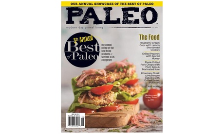One-Year, 6-Issue Subscription To Paleo from Blue Dolphin Magazines (17% Off) 389d6172-5966-43f8-847e-71963e3d8293
