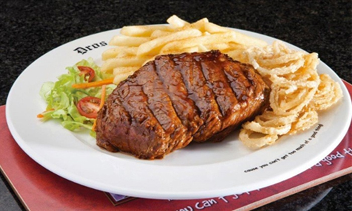 Dros Northriding - Johannesburg: CEO Recommendations: Starter and 300g Fillet Steak Meal for Two, Four or Six People from Dros Northriding