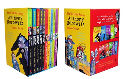 Anthony Horowitz Ten Children Books Box Set