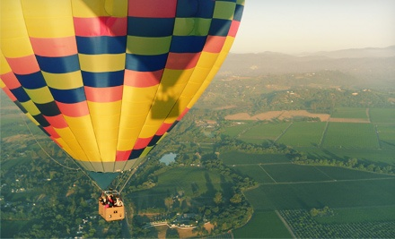 One hot air balloon ride for one with champagne brunch