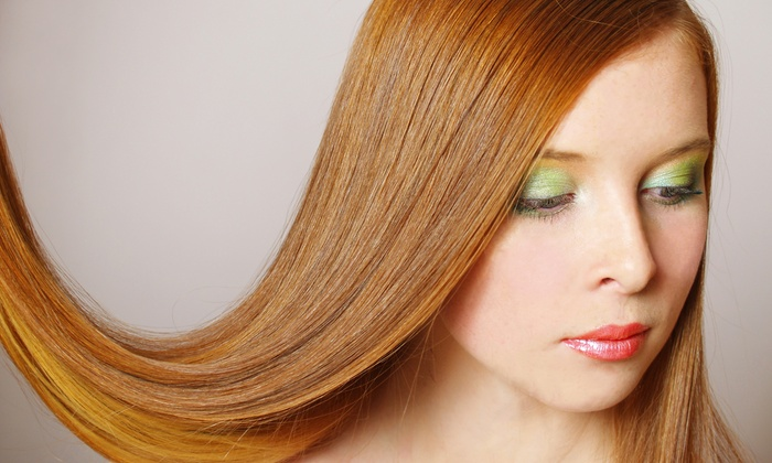 Verenice Juarez at Hair It Is Studio 117 - Southeast Arlington: Brazilian Blowout Treatment with Optional Haircut from Verenice Juarez at Hair It Is Studio 117 (70% Off)