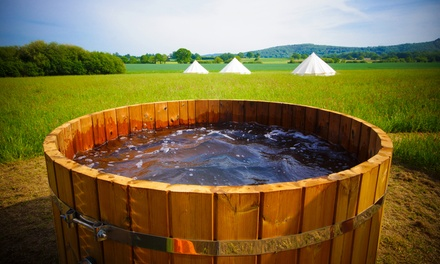East Sussex: Romantic Glamping with Breakfast