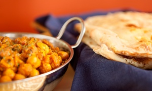 Shalimar Indian Restaurant: Indian Cuisine at Shalimar Indian Restaurant (Up to 52% Off). Two Options Available.
