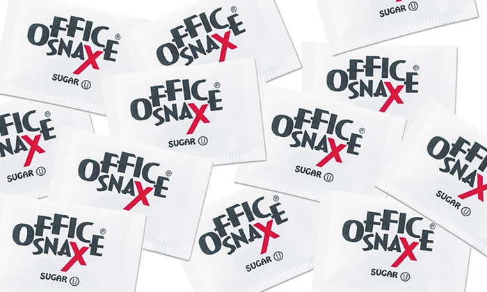 1200-Count Office Snax Single-Serve Sugar Packets: 1200-Count Office Snax Single-Serve Sugar Packets
