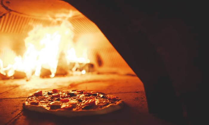 PGR Pizza Grill Restaurant - Coventry: Choice of Wood-Fired Oven Pizza Each for Two at PGR Pizza Grill Restaurant (Up to 50% Off)