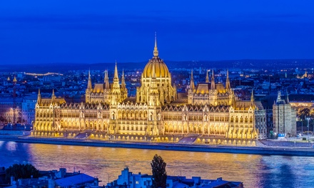 ✈ Berlin, Prague, Vienna and Budapest: 8 Nights at a Choice of Hotels with Flights and Train Transfers*