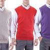 Men's Solid-Color V-Neck Sweater Vest (S-5XL)