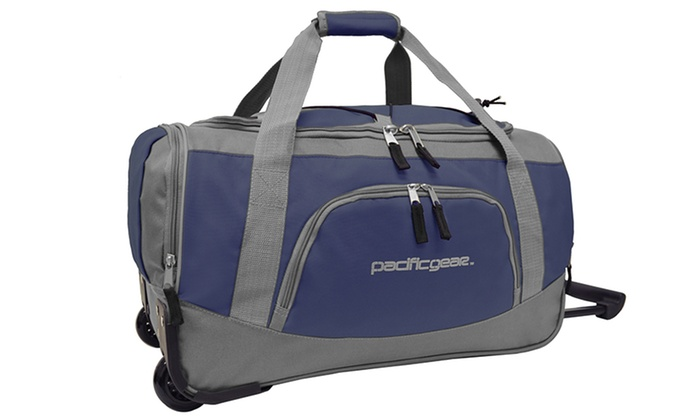 """Pacific Gear 20"""" Carry-On Rolling Duffel Bag: Pacific Gear 20"""" Carry-On Rolling Duffel Bag"""