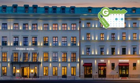 Berlín: habitación doble estándar para 2 personas con desayuno y spa en el Hotel Titanic Gendarmenmarkt Berlin 5*