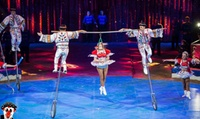 Planet Circus: Child, Adult or Family Ticket, Leicester 17 - 22 October, and Gresley 24 - 29 October