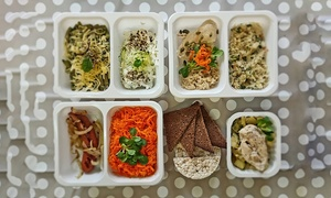 Pracownia Smaku: Jedz i chudnij - catering dietetyczny z dowozem z 5 dań od 179 zł z firmą Pracownia Smaku