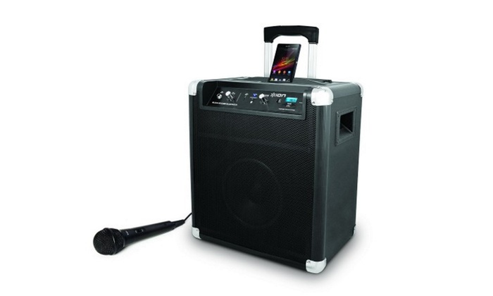 ION Block Rocker Portable Bluetooth Speaker System with Microphone (Manufacturer Refurbished)