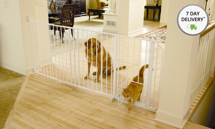 Carlson Maxi Walk-Thru Pet Gate: Carlson Maxi Walk-Thru Pet Gate. Free Returns.