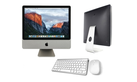Refurbished Apple iMac 20″ Core 2 Duo 24GB RAM 160GB HDD Webcam MA876LL With Free Delivery