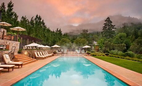 Image Placeholder For 5 Star Napa Valley Resort With Spa Treatment