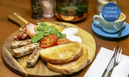 Breakfast with Coffee or Tea for Two $19 or Four People $38 at Obala Up to $100.80 Value