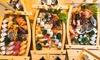 Sushi box da 38 o 80 pezzi