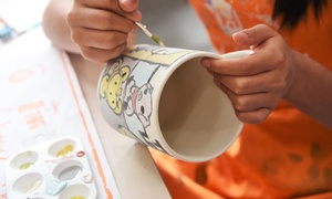 Up to 59% Off Ceramic Painting Experience at Art Haven