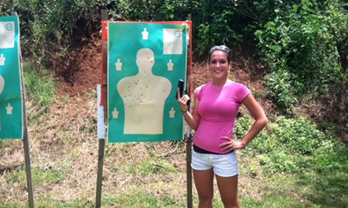Shoot & Move - Havana: Concealed-Weapons-Permit Course and Basic Shooting-Fundamentals Course for One or Two at Shoot & Move (56% Off)
