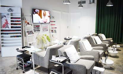 Classic or Gel Manicure and Pedicure with Optional Foot Reflexology at Bespoke Beauty Studio (Up to 57% Off)