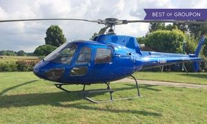 HeliProPassion: Pilotage d'un Hélicoptère au dessus du Pilat et des vignobles avec diplôme pour 1 personne dès 149 € avec HPP