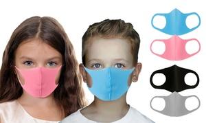 Lot de 4 masques réutilisables enfant