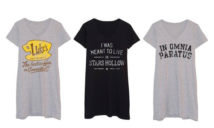 Lorelai and Rory Sleep Shirts