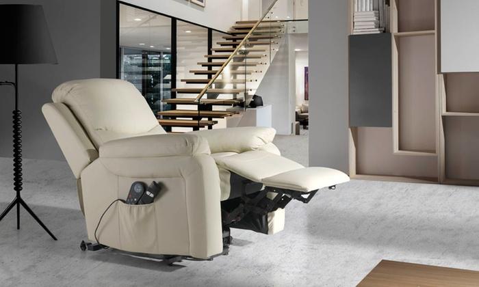 4 zonen massagesessel mit heizung groupon goods. Black Bedroom Furniture Sets. Home Design Ideas