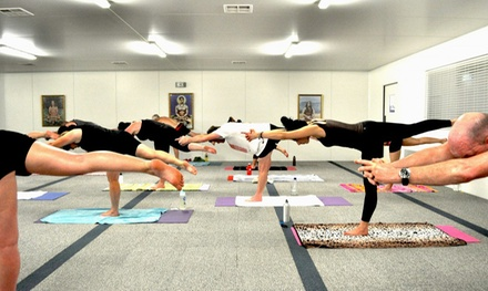 Yoga Pass: Five ($29) or Ten Classes ($49) at Wollongong Yoga Centre (Up to $195 Value)
