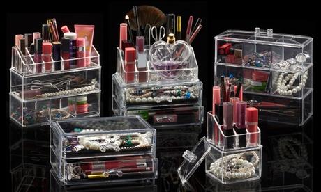 Acrylic Cosmetic Organisers
