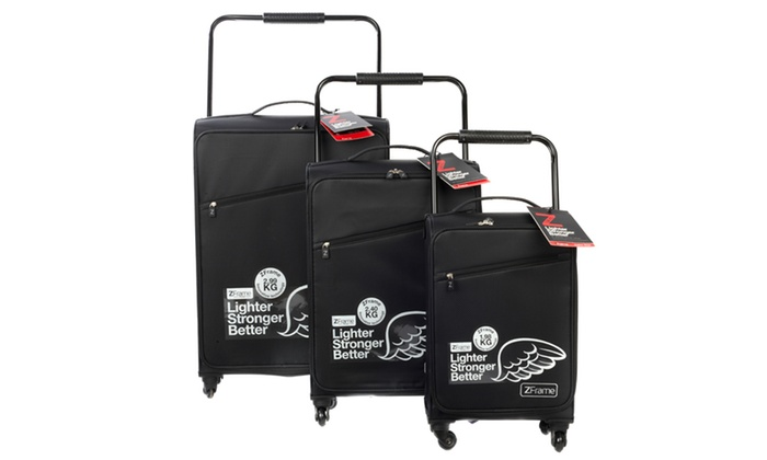 133301560 Up To 38% Off ZFrame Lightweight Suitcase | Groupon