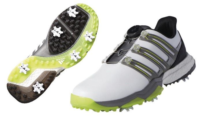 competitive price 67b17 2de21 adidas Powerband Boa Boost Men s Golf Shoes   Groupon