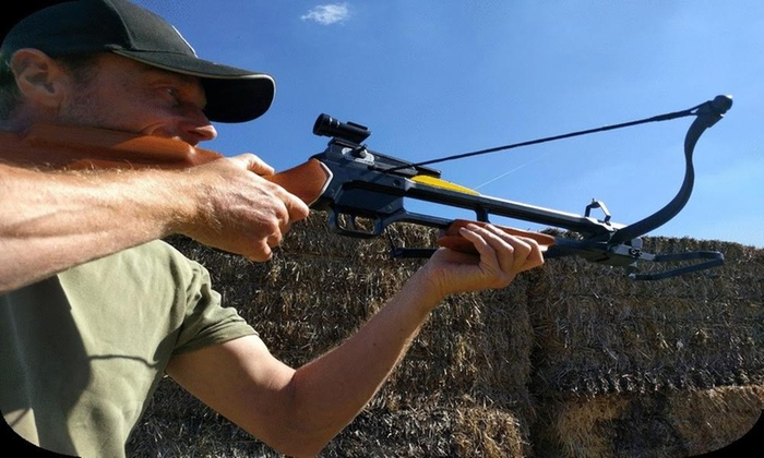 Air Rifle Shooting, Axe Throwing or Crossbows For Up to Four from  Unlimited Events Limited