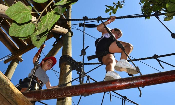 Adventure Land - ADVENTURE LAND: Ingresso per 2 persone al parco avventura Adventure Land Borno a 24,90 €