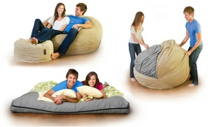 Cordaroy S Corduroy Convertible Beanbag Chair Bed