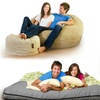 CordaRoy's Corduroy Convertible Beanbag Chair/Bed