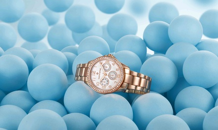 Reloj para mujer con 64 cristales Swarovski® colección Katy Timothy Stone (envío gratuito)
