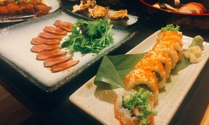 Ryo Japanese Izakaya: 7-Course Japanese Feast with Wine for 2 ($69), 4 ($137) or 8 People ($274) at Ryo Japanese Izakaya (Up to $500 Value)