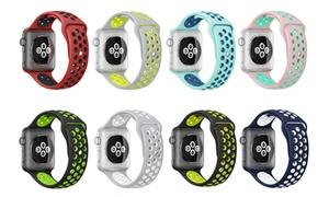 Bracelet en silicone Apple Watch
