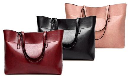 Damen-Tasche aus Leder in der Farbe nach Wahl (Frankfurt)