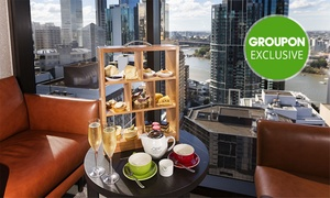 Four Points By Sheraton Brisbane Dining: High Tea in the Sky with Bubbly for One ($29) or Four ($105) at Four Points by Sheraton Brisbane Dining ($216 Value)
