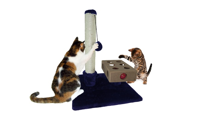 53% Off On Cat Tree House Furniture | Groupon Goods