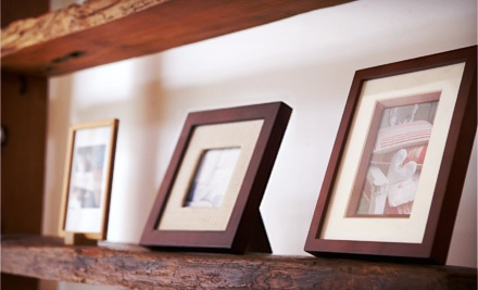 $49 for $150 Worth of Custom Framing and Printing Services at G & K Picture Frame Canada