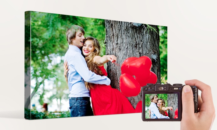 Personalized 8 X 10 Custom Canvas Prints Up To